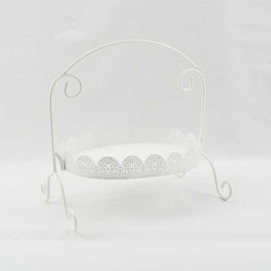 Cake Stand Hire, Cheap Cake Stand Hire Sydney, Lace 1 Tier Cake Stand
